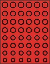Lindner 2506 muntenbox standaard  R-Euroset
