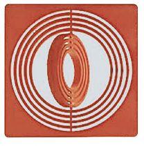 Lindner 2636 d.rood inletts 10 stuks