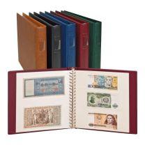 Lindner 2810 Bankbiljettenalbum Regular, kleur naar keuze