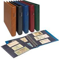 Lindner 2815 Bankbiljettenalbum Regular, kleur naar keuze