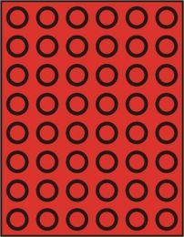 Lindner 2949 muntenbox  rookglas R-24,25mm