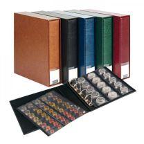 Lindner 3532M Muntenalbum en cassette Publica M met 10 muntbladen