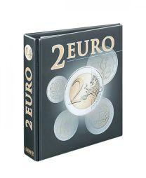 Lindner 3535R Publica M lege band 2 Euro herdenkingsmunten alle landen