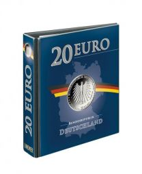 Lindner 3536R Publica M band leeg 20 Euro munten Duitsland