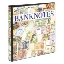 Lindner 3701S Bankbiljettenalbum inclusief cassette