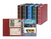 Lindner 5800 Postcard album LOTUS kleur naar keuze