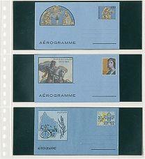 Lindner 822 blad 3-delig 10x