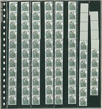 Lindner 838 blad 10x