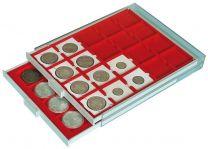 Lindner Muntenbox 2122 standaard