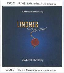 Lindner Nederland losse zegels 2020