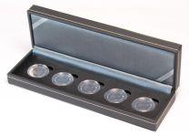Lindner S23625EK Nera cassette S voor 5 Duitse 5 euro Verzamelmunten