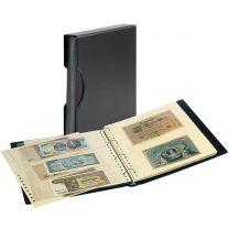 Lindner SRS Bankbiljettenalbum zwart inclusief cassette