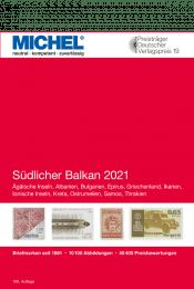 MICHEL Europa 7 Sudlicher Balkan 2021