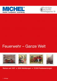 MICHEL motief catalogus feuerwehr brandweer 2020