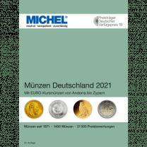 Michel Deutschland Munzen 2021 Hartberger