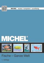Michel motiecatalogus wereld Vissen 2017
