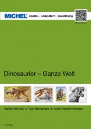 Michel motiefcatalogus Wereld - Dinosaurussen 1e editie