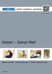Michel motiefcatalogus Wereld - Katten 1e editie