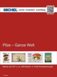 Michel motiefcatalogus Wereld - Paddestoelen 1e editie