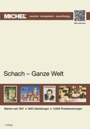 Michel motiefcatalogus Wereld - Schaken 1e editie
