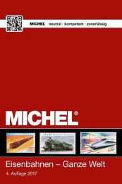 Michel motiefcatalogus Wereld - Spoorweg 4e editie 2017-2018