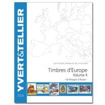 Yvert Europa 2016