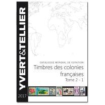 Yvert Franse Kolonien 2017