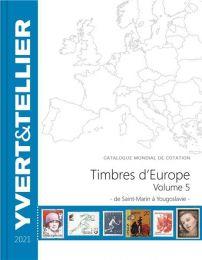 Yvert Timbre d'Europe 2021 deel 5