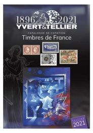 Yvert en Tellier Timbres de France 2021