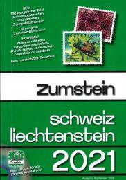 Zumstein Catalogus Zwitsersland Liechtenstein 2021